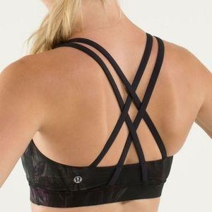 Size 4 Lululemon Energy Medium Support Sports Bra
